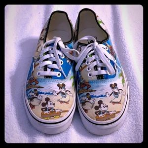 DISNEY VANS ALOHA HAWAII Women's 9.5 Mens 8